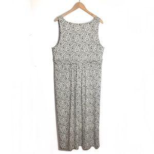 J. Jill Dresses - J. Jill Maxi Floral Dress Size XL